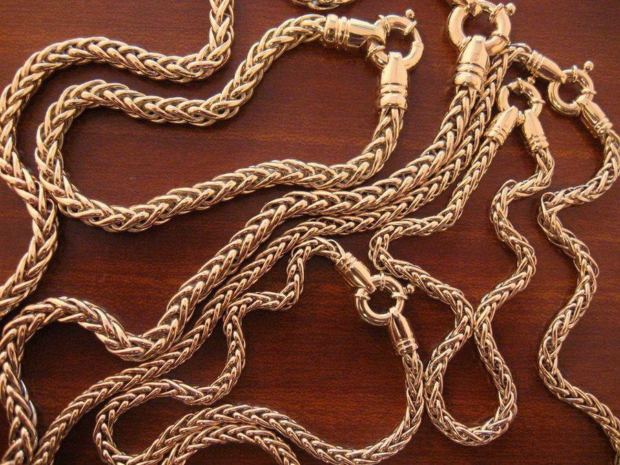 Мужские серебряные цепочки спб