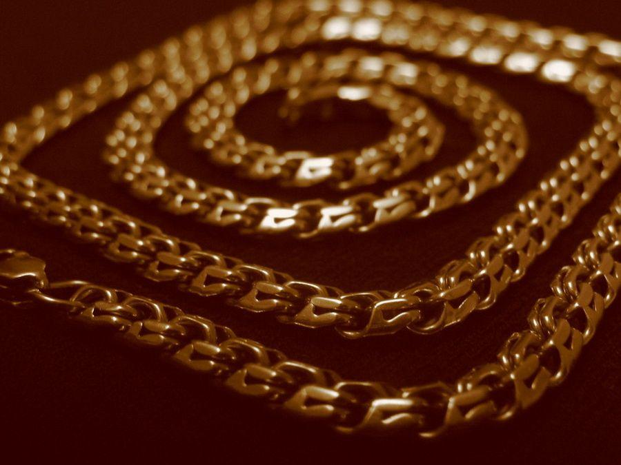 золотая цепочка плетение кардинал