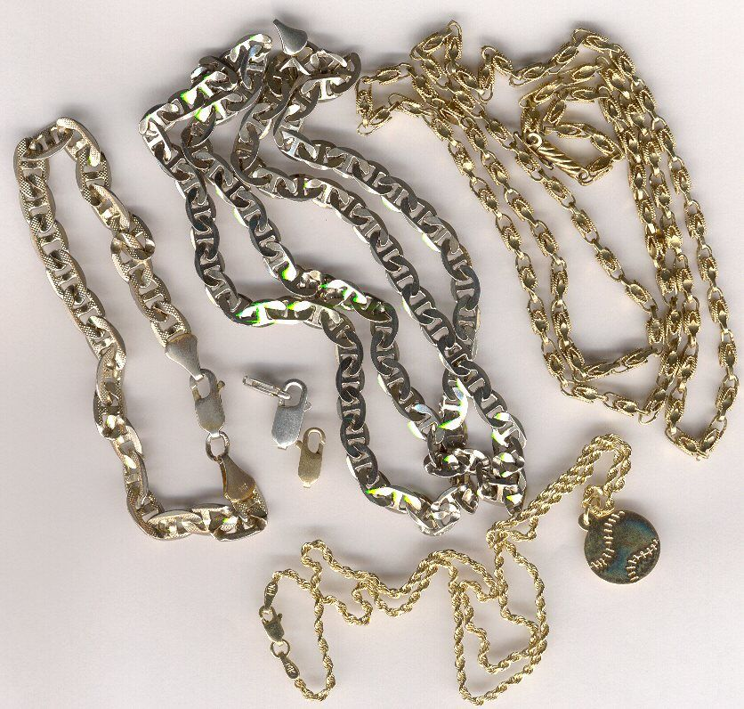 позолоченные серебряные цепочки мужские купить