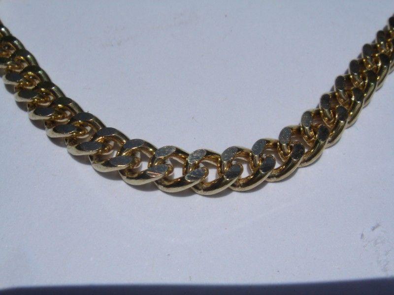 цепочка золотая плетение лисий хвост