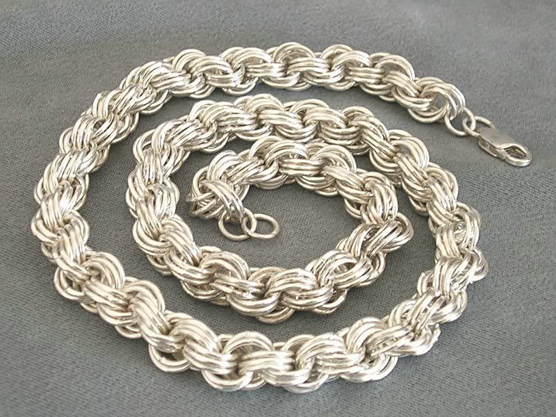 цепочки из серебра мужские толстые купить