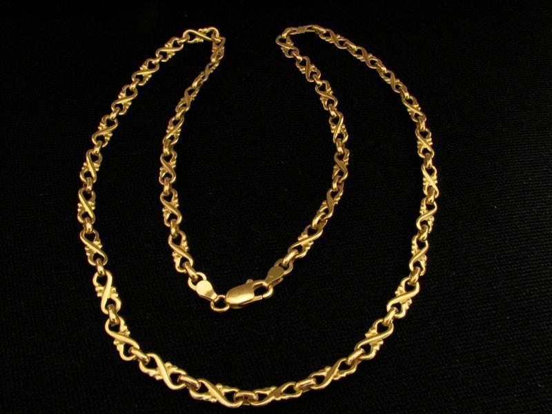 Сколько стоит золотая цепочка мужская