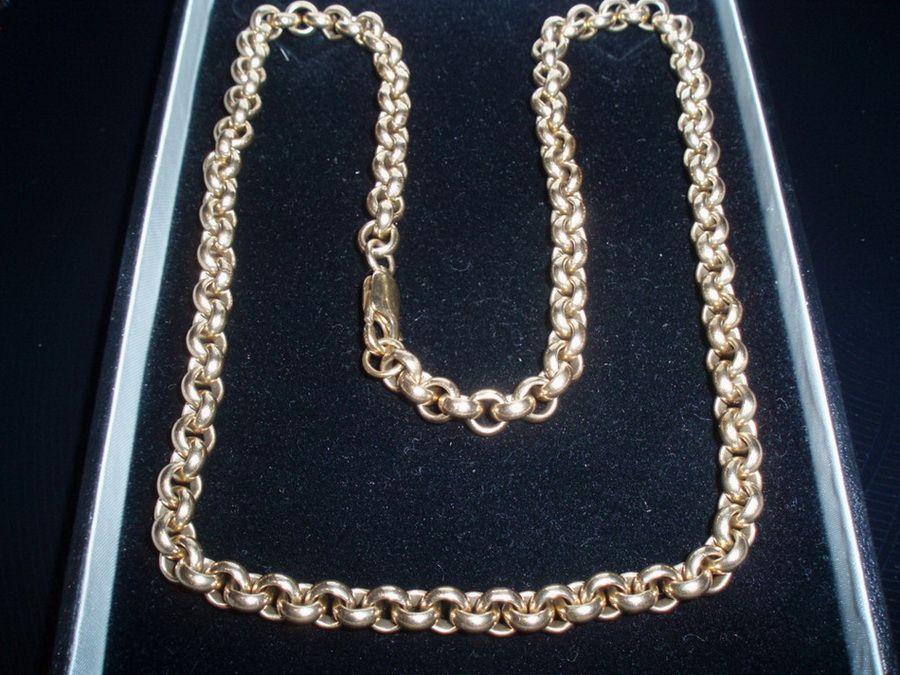 ювелирные цепочки из золота