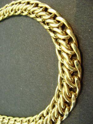 Как делают золотые цепочки