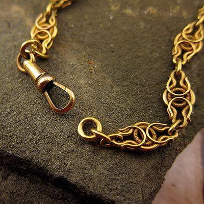 Цепочки эксклюзивные из золота