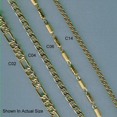 золотая цепочка женская 45 см