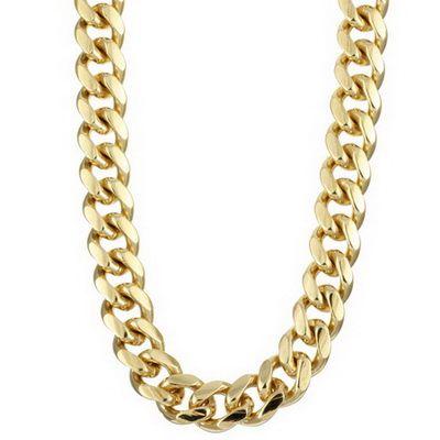 Золотые большие цепочки